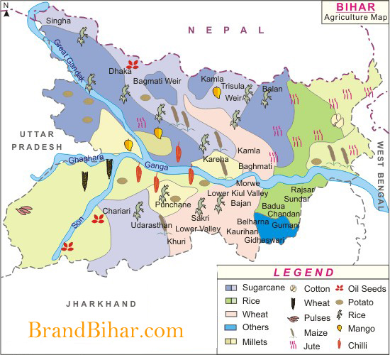 bihar-agriculture-map